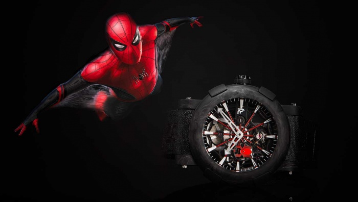 RJ launches new ARRAW Spider-Man watch in partnership with MARVEL